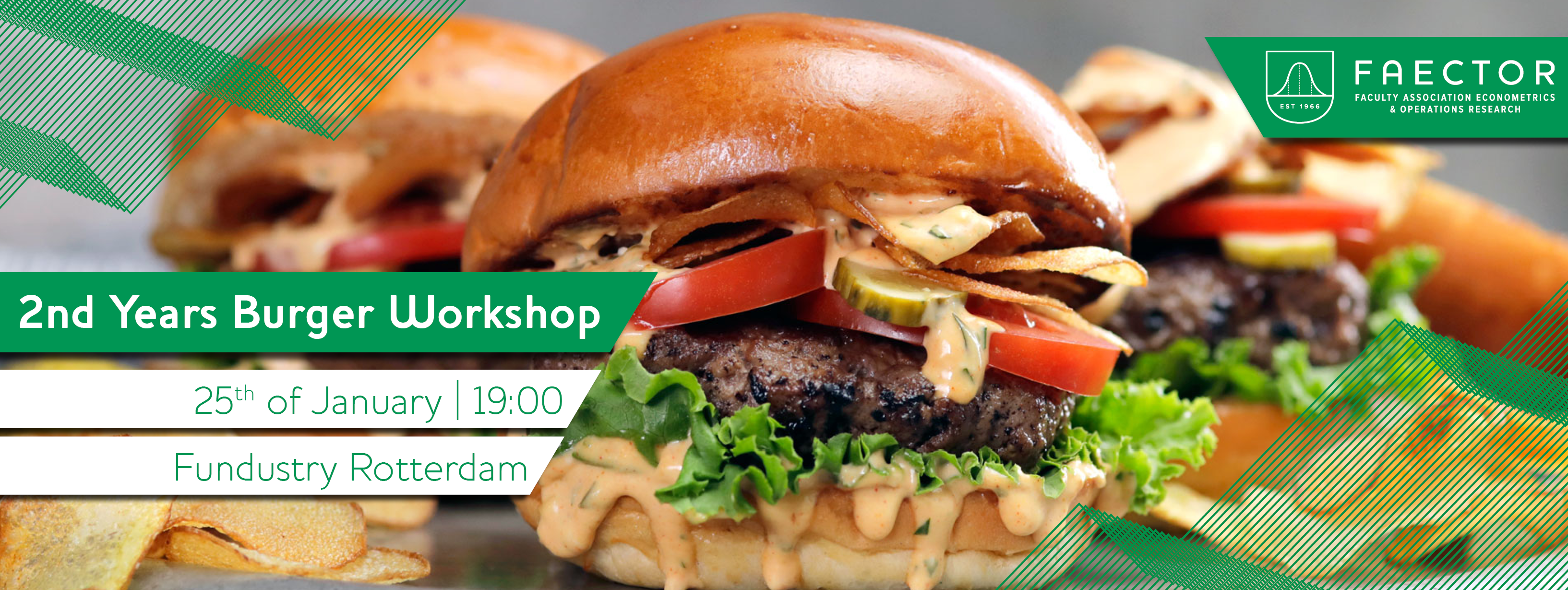 Second Years Burger Workshop